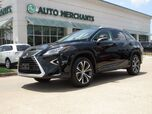 2017 Lexus RX 450h AWD LEATHER, BLIND SPOT MONITOR, SUNROOF, HTD/CLD FRONT STS, NAVIGATION, BACKUP CAMERA