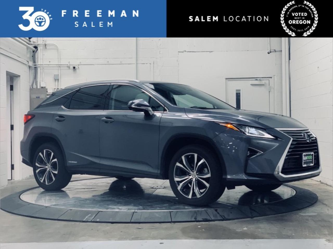 2017 Lexus RX 450h Cold Weather Package Navigation System Salem OR