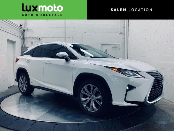 2017_Lexus_RX 450h_Hybrid Panoramic Heated/Ventilated Seats Tow Pkg_ Salem OR
