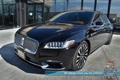 2017 Lincoln Continental Black Label / AWD / Auto Start / Heated And Cooled Leather Seats / Heated Steering Wheel / Panoramic Sunroof / Revel Ultima Speakers / Navigation / Adaptive Cruise / Lane Departure & Blind Spot