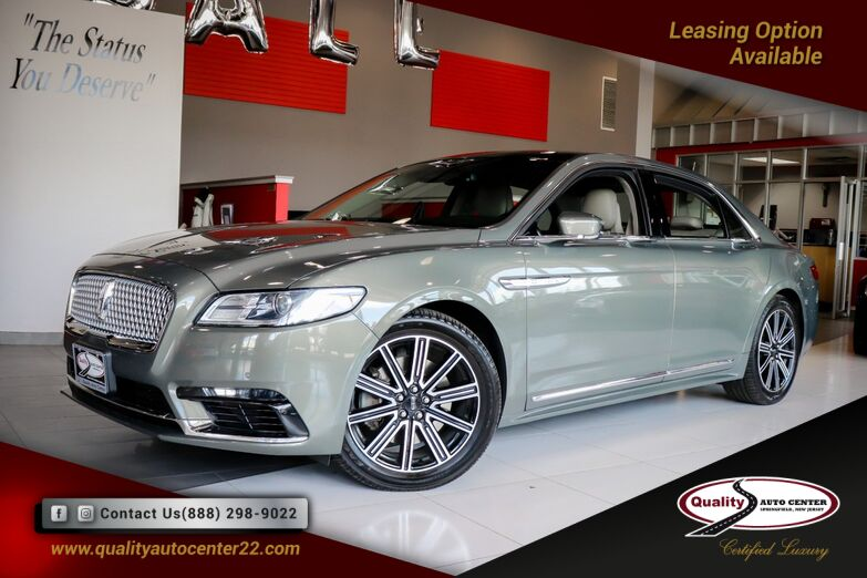 2017 Lincoln Continental Reserve Dual Roof Power Shade Springfield NJ