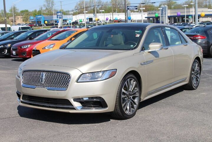 2017 Lincoln Continental Reserve Fort Wayne Auburn and Kendallville IN