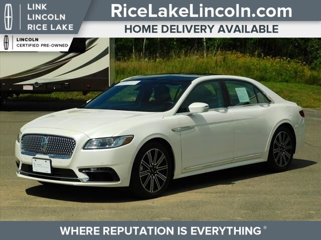 2017 Lincoln Continental Reserve Rice Lake WI