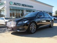 2017_Lincoln_Continental_Select AWD*BACKUP CAM,BLINDSPOT,BLUETOOTH,NAVIGATION,REAR PARKING AID,UNDER FACTORY WARRANTY!_ Plano TX