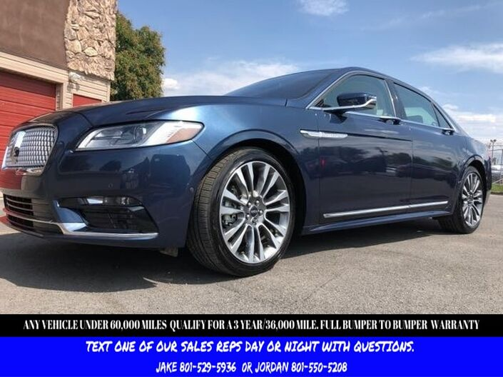 2017 Lincoln Continental Select Salt Lake City UT