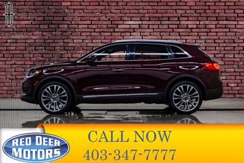 2017_Lincoln_MKX_AWD Reserve Leather Roof Nav BCam_ Red Deer AB