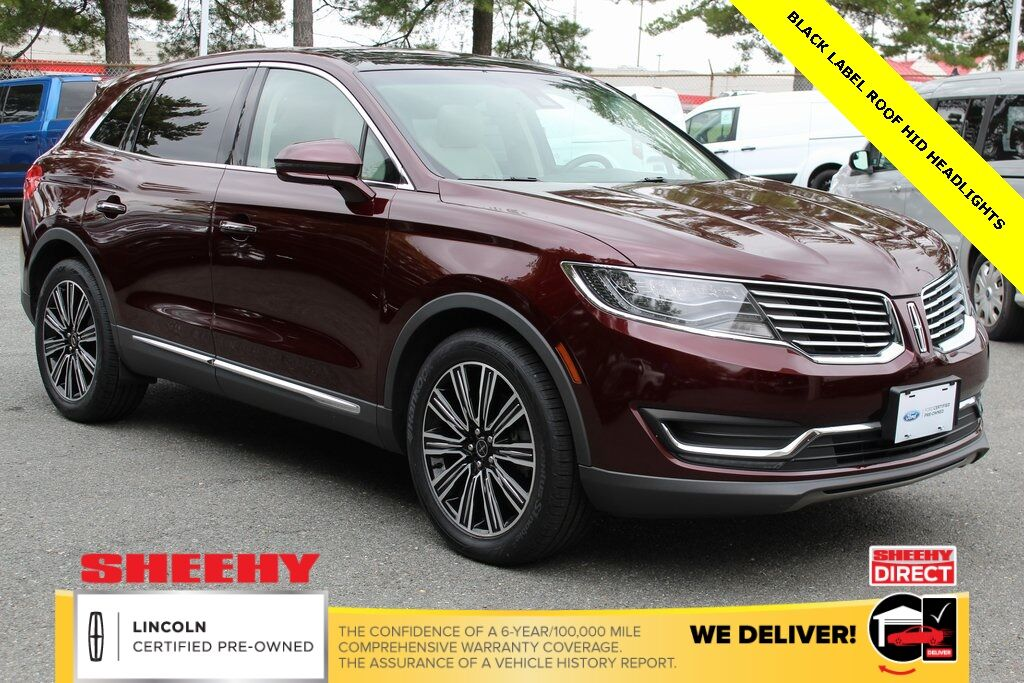 2017 Lincoln MKX Black Label Gaithersburg MD