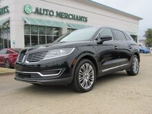 2017_Lincoln_MKX_Reserve AWD Back-Up Camera, Remote Engine Start, Blind Spot Monitor, Navigation System, Bluetooth_ Plano TX