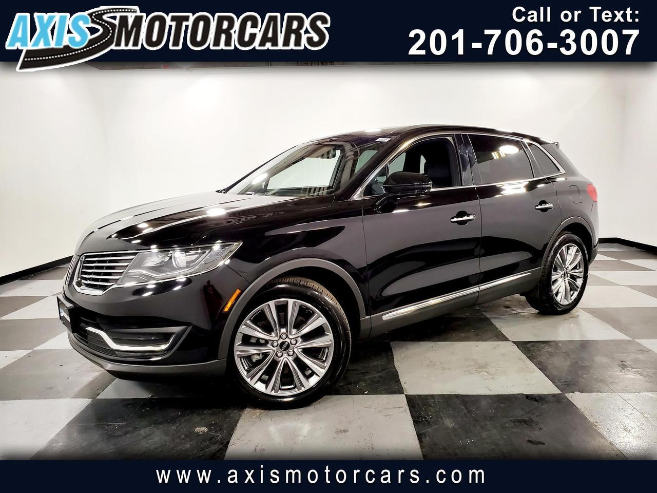 2017 Lincoln MKX Reserve AWD Jersey City NJ