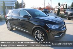 2017_Lincoln_MKX_Reserve_ Carrollton TX