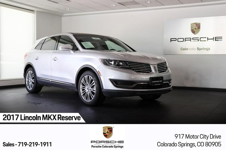 2017 Lincoln MKX Reserve Colorado Springs CO