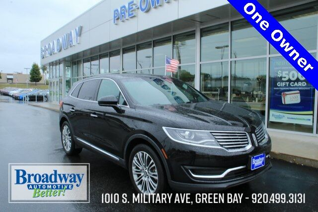 2017 Lincoln MKX Reserve Green Bay WI