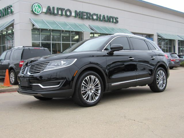 2017 Lincoln MKX Reserve, LEATHER, NAVIGATION, BLIND SPOT MONITOR, HEATED AND COOLED SEATS, PANORAMIC SUNROOF, BACKUP Plano TX