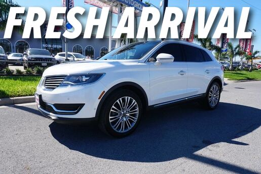 2017 Lincoln MKX Reserve Weslaco TX