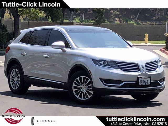 2017 Lincoln MKX Select Irvine CA