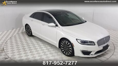 2017_Lincoln_MKZ_Black Label PADDLE SHIFTER,BUCKET SEATS,MOONROOF,NAV,BLUETOOTH_ Euless TX