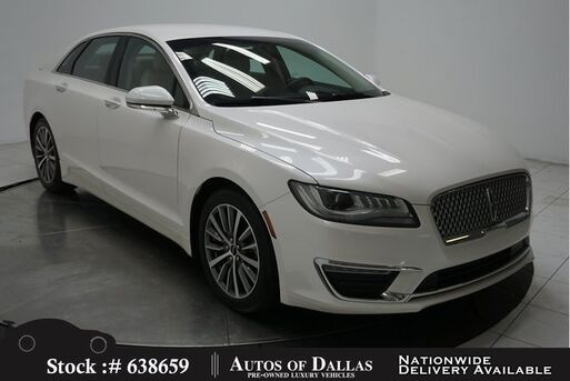 2017_Lincoln_MKZ_Hybrid NAV,CAM,HTD STS,PARK ASST,18IN WHLS_ Plano TX