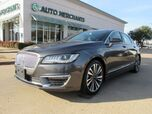 2017 Lincoln MKZ Hybrid Reserve NAV, BACKUP CAM,  HEATED/ COOLED SEATS, SUNROOF, POWER LIFTGATE,