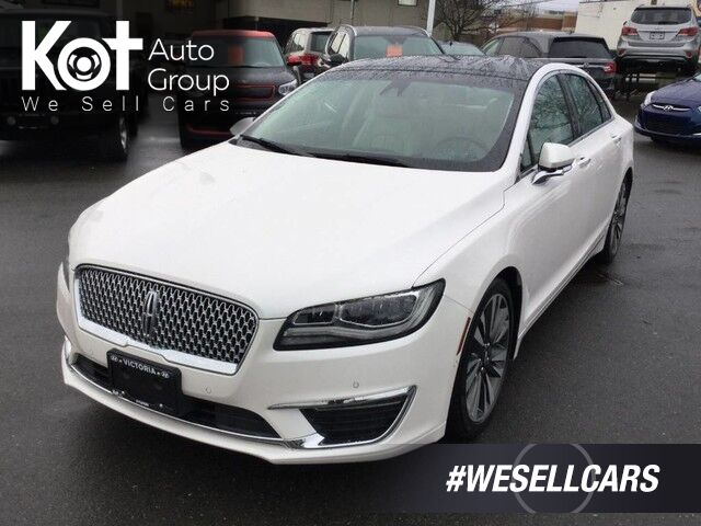 2017 Lincoln MKZ RESERVE! AWD! NAV! PANORAMIC SUNROOF! LEATHER! Victoria BC