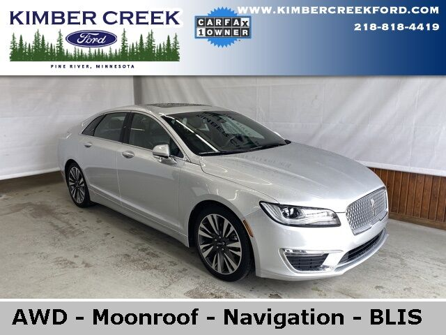 2017 Lincoln MKZ Reserve AWD Pine River MN