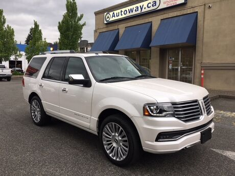 2017 Lincoln Navigator Select   Heated/Cooled Seats   Pwr Side Steps Coquitlam BC