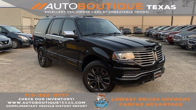 2017 Lincoln Navigator Select Houston TX