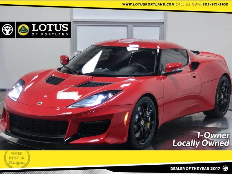 2017 Lotus Evora 400 1-Owner Locally Owned Portland OR
