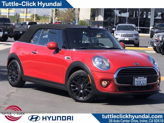 2017 MINI CONVERTIBLE COOPER Irvine CA