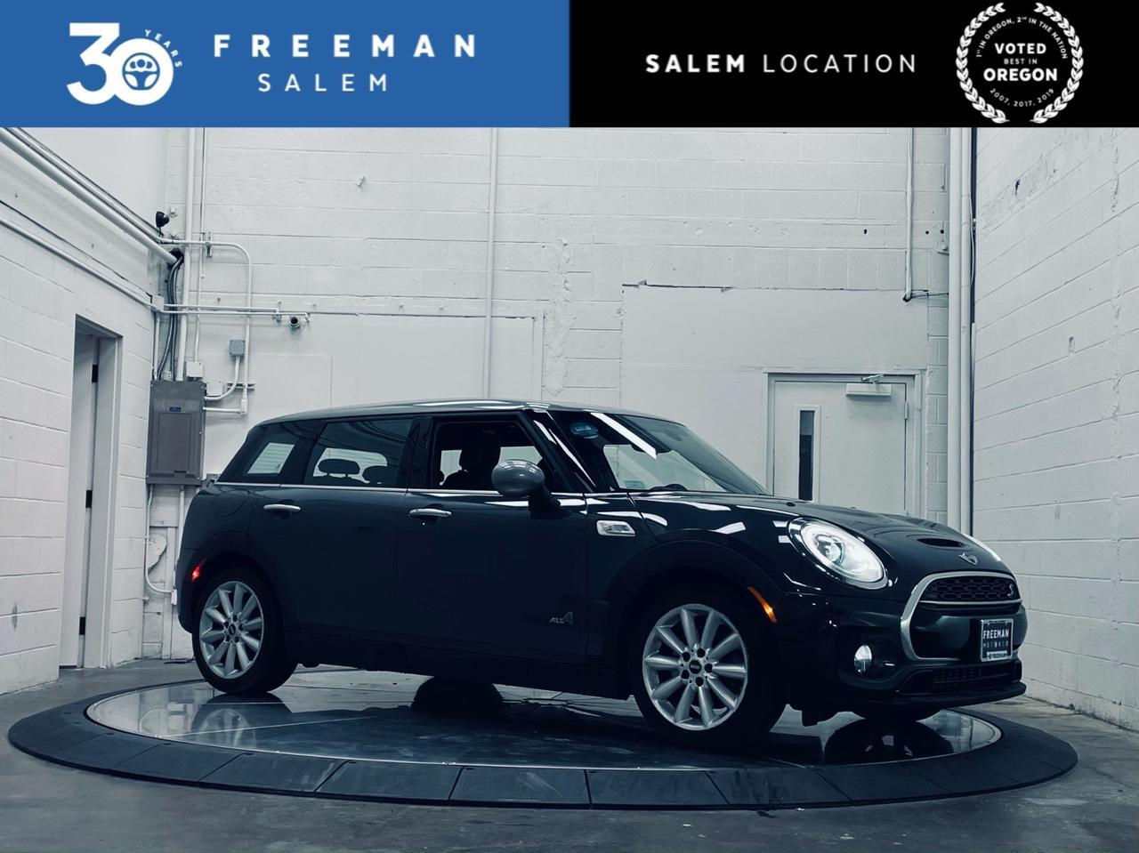 2017 MINI Clubman AWD Cooper S Panoramic Roof Cold Weather Pkg Salem OR