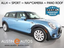 2017_MINI_Cooper Clubman ALL4_*NAVIGATION, BACKUP-CAMERA, SPORT PKG, PANORAMA MOONROOF, HARMAN/KARDON, HEATED SEATS, COMFORT ACCESS, LED HEADLIGHTS, BLUETOOTH_ Round Rock TX