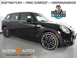 2017_MINI_Cooper Clubman S_*JCW EXTERIOR PKG, HEADS-UP DISPLAY, NAVIGATION, BACKUP-CAMERA, PANORAMA MOONROOF, HARMAN/KARDON, 19 INCH JCW WHEELS_ Round Rock TX