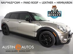 2017_MINI_Cooper Clubman S_*NAVIGATION, HEADS-UP DISPLAY, BACKUP-CAMERA, PANORAMA MOONROOF, HARMAN/KARDON, CROSS PUNCH LEATHER, HEATED SPORT SEATS, COMFORT ACCESS, BLUETOOTH_ Round Rock TX