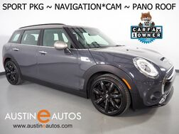2017_MINI_Cooper Clubman S_*SPORT PKG, NAVIGATION, BACKUP-CAMERA, LEATHER SPORT HEATED SEATS, HARMAN/KARDON, PANORAMA MOONROOF, COMFORT ACCESS, LED HEADLIGHTS, BLUETOOTH_ Round Rock TX