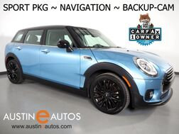 2017_MINI_Cooper Clubman_*SPORT PKG, NAVIGATION, BACKUP-CAMERA, PARK DISTANCE CONTROL, SPORT SEATS, LED HEADLIGHTS, BLACK ALLOYS, BLUETOOTH PHONE & AUDIO_ Round Rock TX