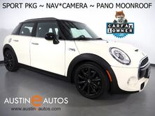MINI Cooper Hardtop 4 Dr S *SPORT PKG, NAVIGATION, BACKUP-CAMERA, PANORAMA MOONROOF, JCW INT. PKG, HARMAN/KARDON, BLACK ALLOYS, BLUETOOTH PHONE & AUDIO 2017