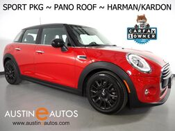 2017_MINI_Cooper Hardtop 4 Dr_*SPORT PKG, PANORAMA MOONROOF, VISUAL BOOST, HARMAN/KARDON, COMFORT ACCESS, HEATED SEATS, BLUETOOTH PHONE & AUDIO_ Round Rock TX