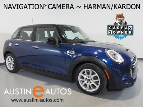 2017 MINI Cooper Hardtop S 4Dr *NAVIGATION, BACKUP-CAMERA, HARMAN/KARDON, VISUAL BOOST, PARK DISTANCE CONTROL, LED HEADLIGHTS, BLUETOOTH PHONE & AUDIO Round Rock TX