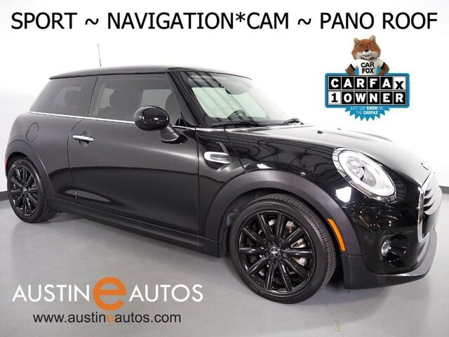 2017 MINI Cooper Hardtop *SPORT PKG, NAVIGATION, BACKUP-CAMERA, PANORAMA MOONROOF, SPORT SEATS, LED HEADLIGHTS, BLACK ALLOY WHEELS, BLUETOOTH PHONE & AUDIO Round Rock TX