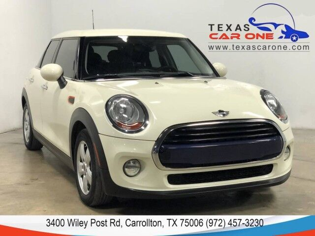 2017 MINI Cooper LEATHER SEATS KEYLESS START BLUETOOTH DUAL CLIMATE CONTROL ALLOY Carrollton TX
