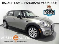 2017_MINI_Hardtop 4 Door Cooper_*AUTOMATIC, SPORT PKG, PANORAMA MOONROOF, BACKUP-CAMERA, LEATHER, VISUAL BOOST, LED HEADLIGHTS, BLUETOOTH PHONE & AUDIO_ Round Rock TX