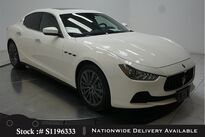 Maserati Ghibli NAV,CAM,SUNROOF,HTD STS,19IN WHLS,HID LIGHTS 2017