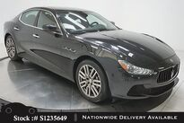 Maserati Ghibli NAV,CAM,SUNROOF,HTD STS,19IN WLS,HID LIGHTS 2017