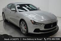 Maserati Ghibli NAV,CAM,SUNROOF,HTD STS,20IN WLS,HID LIGHTS 2017