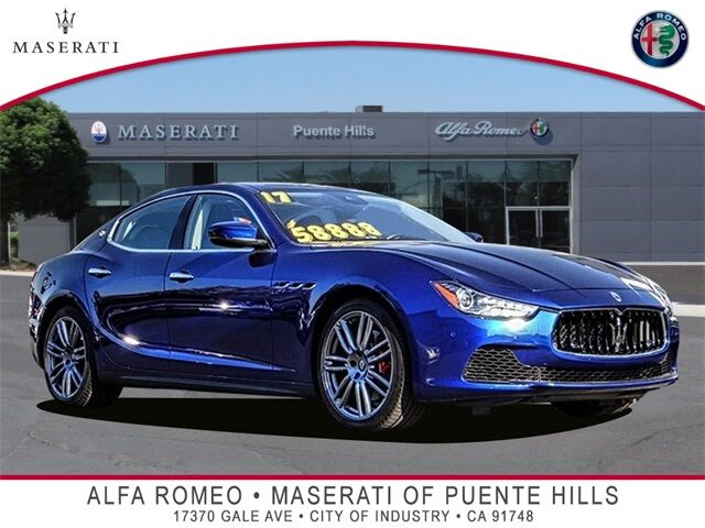 2017 Maserati Ghibli S City of Industry CA