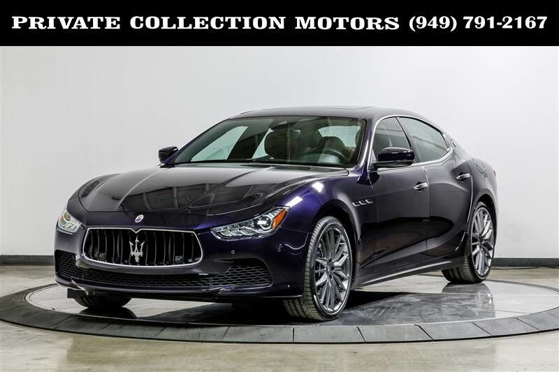 2017_Maserati_Ghibli_S Highly Optioned_ Costa Mesa CA