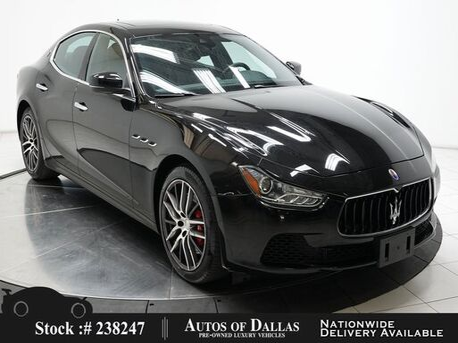 2017_Maserati_Ghibli_S NAV,CAM,SUNROOF,HTD STS,19IN WHLS_ Plano TX