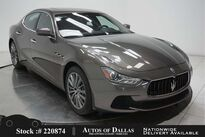 Maserati Ghibli S NAV,CAM,SUNROOF,HTD STS,19IN WLS,HID LIGHTS 2017