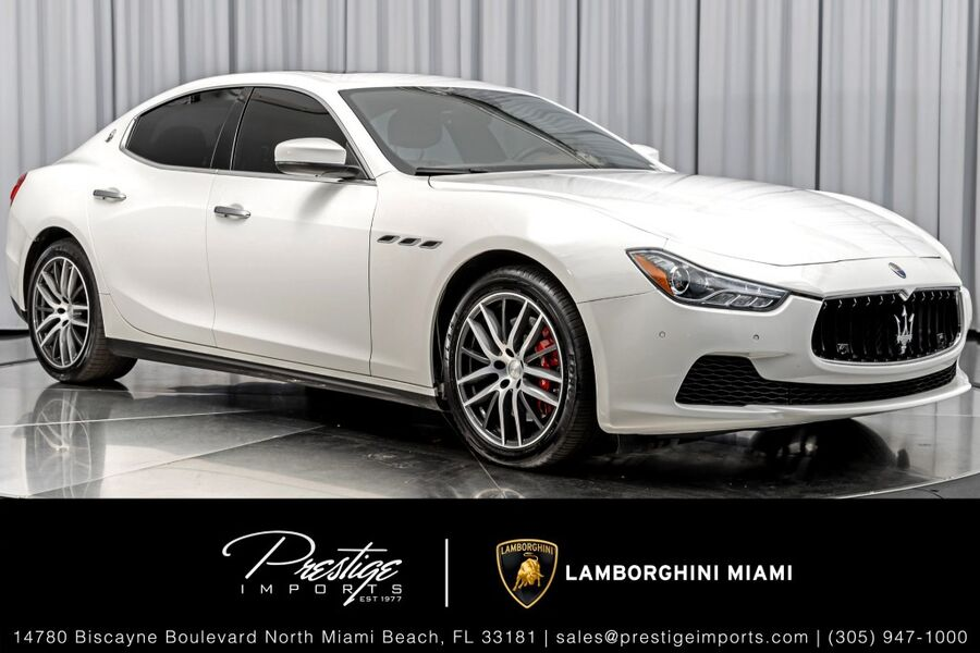 2017_Maserati_Ghibli_S_ North Miami FL