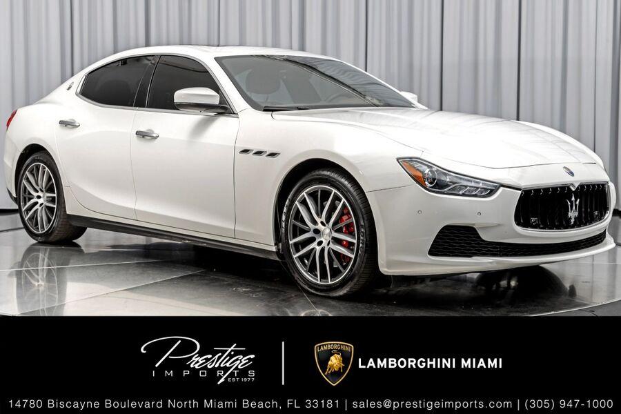 2017_Maserati_Ghibli_S_ North Miami Beach FL