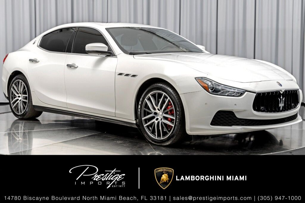 2017_Maserati_Ghibli_S_ North Miami Beach FL
